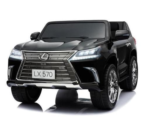 RiiRoo Lexus LX 570 Ride on Car - 24V 4WD Black