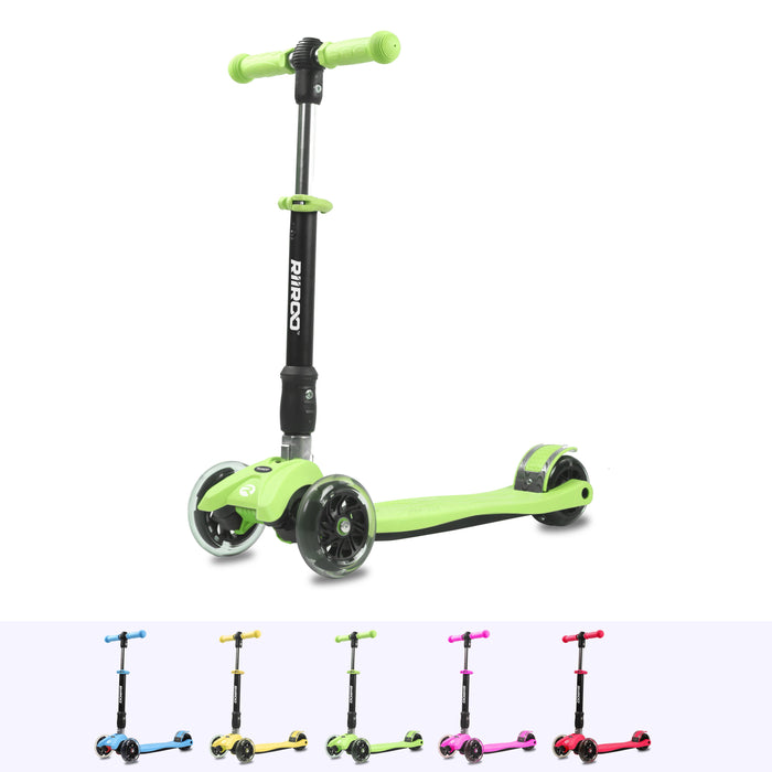 RiiRoo Maxi Scooter Green