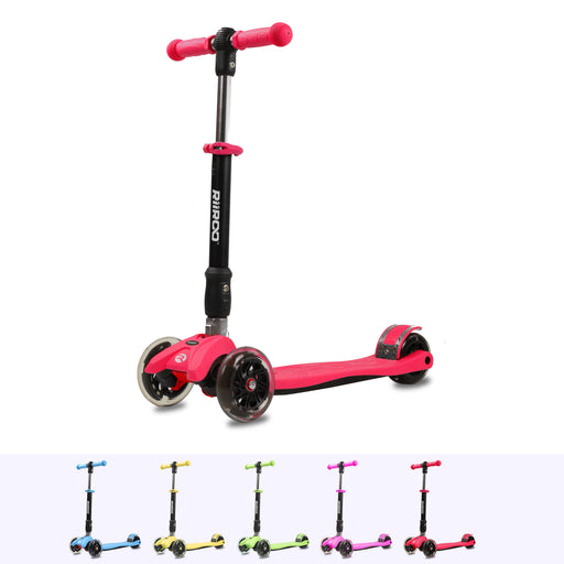 RiiRoo Maxi Scooter Red