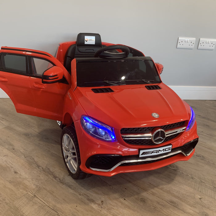 RiiRoo Mercedes Benz AMG GLE 63 S - 12V 2WD Red