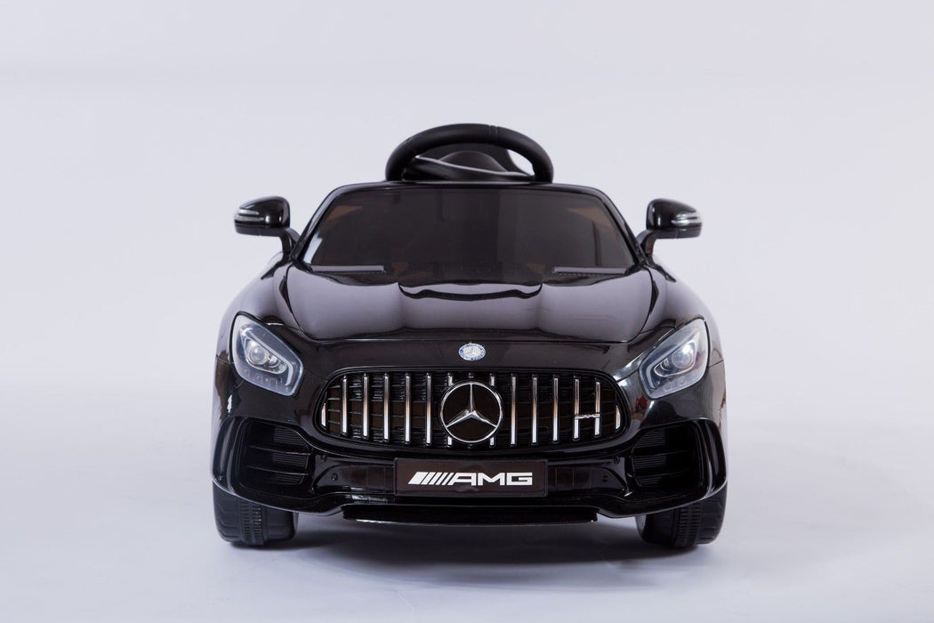 RiiRoo Mercedes Benz AMG GT R Ride On Car in black front