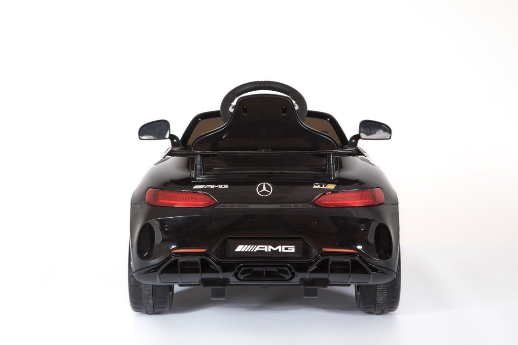 RiiRoo Mercedes Benz AMG GT R Ride On Car in black rear