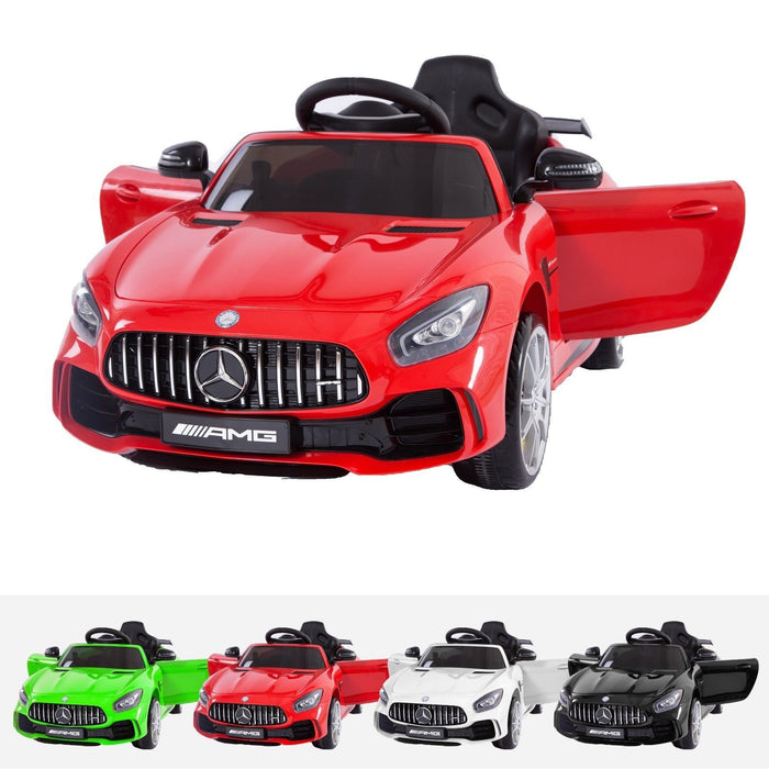 RiiRoo Mercedes Benz AMG GT R Ride On Car in red and multiple colours