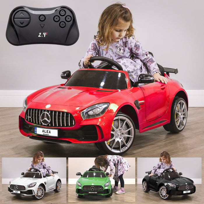 RiiRoo Mercedes Benz AMG GT R Ride On Car in red and other colours Red