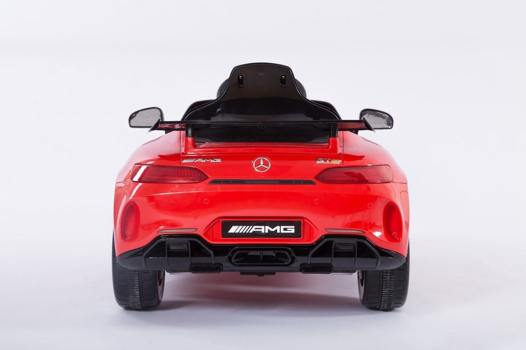 RiiRoo Mercedes Benz AMG GT R Ride On Car in red back view2