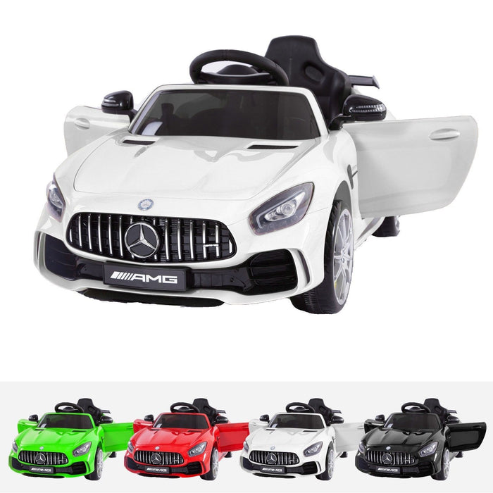 RiiRoo Mercedes Benz AMG GT R Ride On Car in white and various colours