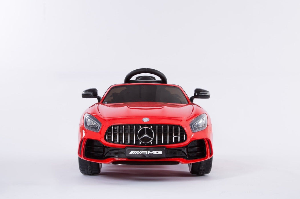RiiRoo Mercedes Benz AMG GT R Ride On Car  red small front