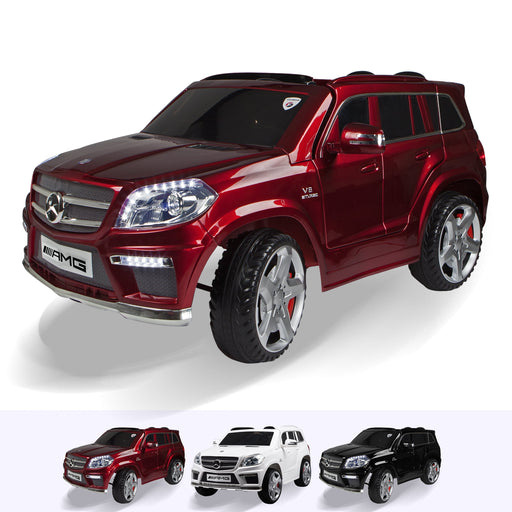 RiiRoo Mercedes Benz GL63 Ride on Car - 12V 2WD Red