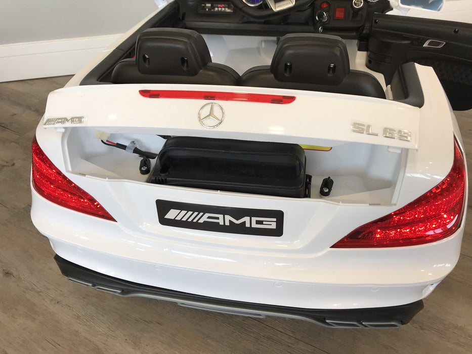 RiiRoo Mercedes Benz SL65 AMG Ride On Car - 12V 2WD