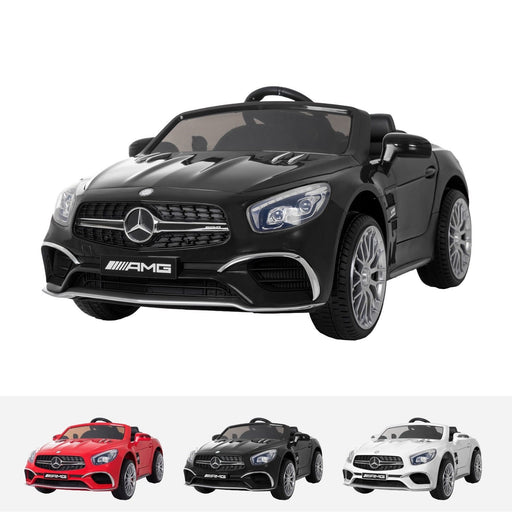 RiiRoo Mercedes Benz SL65 AMG Ride On Car - 12V 2WD Black