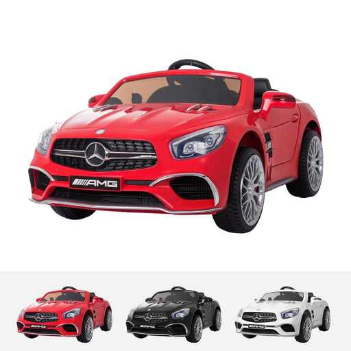 RiiRoo Mercedes Benz SL65 AMG Ride On Car - 12V 2WD Red