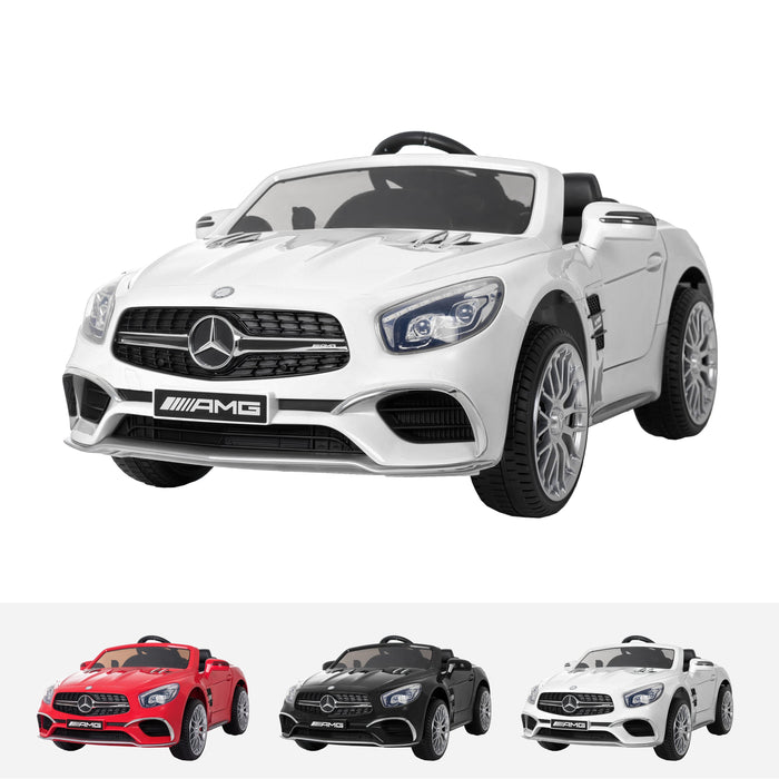 RiiRoo Mercedes Benz SL65 AMG Ride On Car - 12V 2WD White