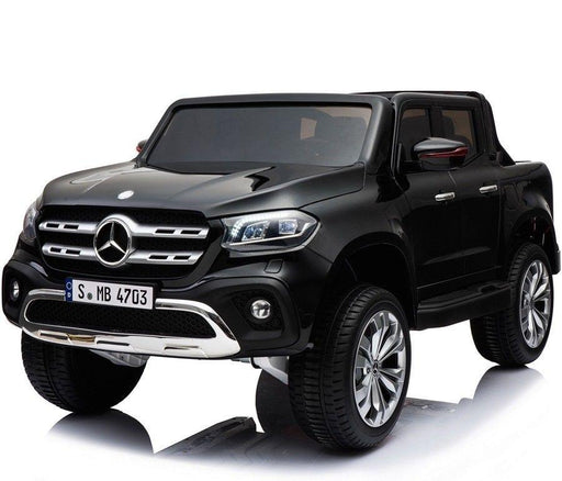 RiiRoo Mercedes Benz X Class Pick UP Ride On Car - 24V 4WD Black
