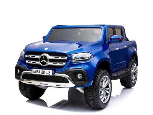 RiiRoo Mercedes Benz X Class Pick UP Ride On Car - 24V 4WD Blue