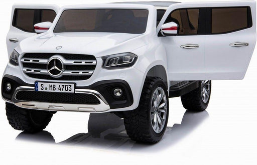 RiiRoo Mercedes Benz X Class Pick UP Ride On Car - 24V 4WD White