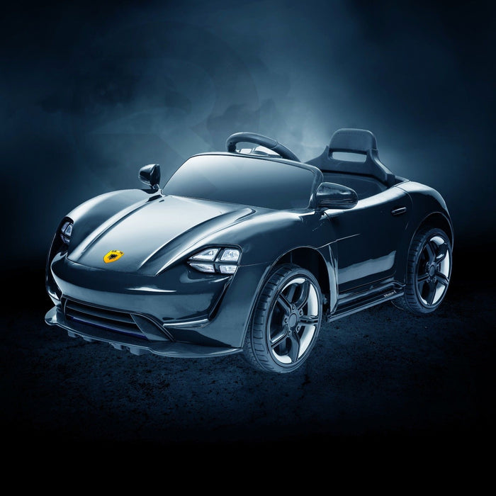 RiiRoo Porsche Mission E Taycan Style Ride on Car - 12V 2WD