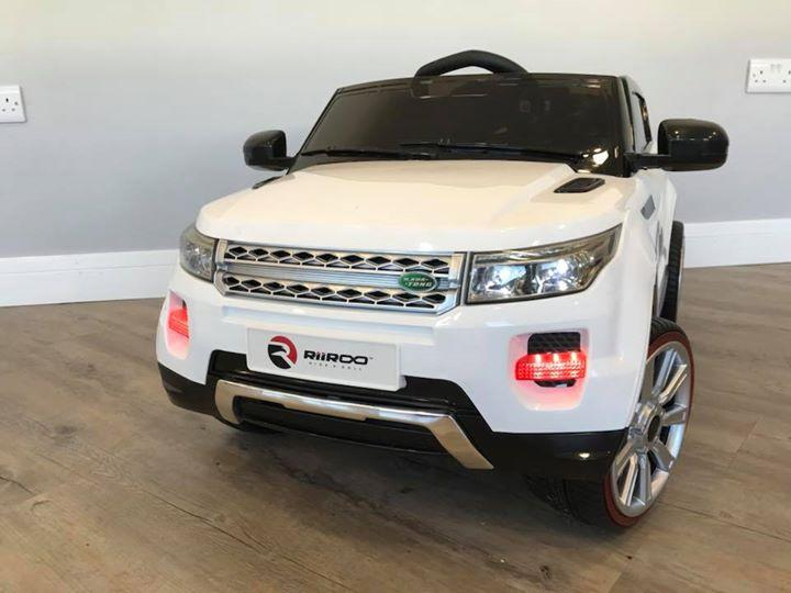 RiiRoo Range Rover Evoque Style Ride on Car - 12V 2WD