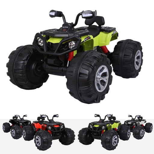 RiiRoo RiiRoo 63S Quad Bike - 12V Green