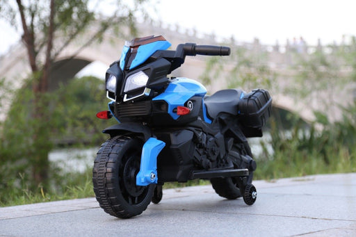 RiiRoo RiiRoo KTM Duke Style Ride On Motorbike/Trike - 6V Blue