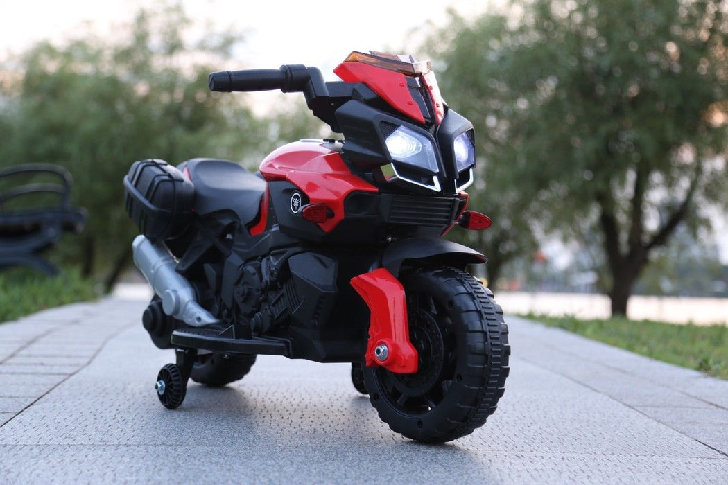 RiiRoo RiiRoo KTM Duke Style Ride On Motorbike/Trike - 6V Red