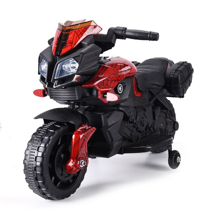RiiRoo RiiRoo KTM Duke Style Ride On Motorbike/Trike - 6V Spiderman Red (PRE-ORDER)