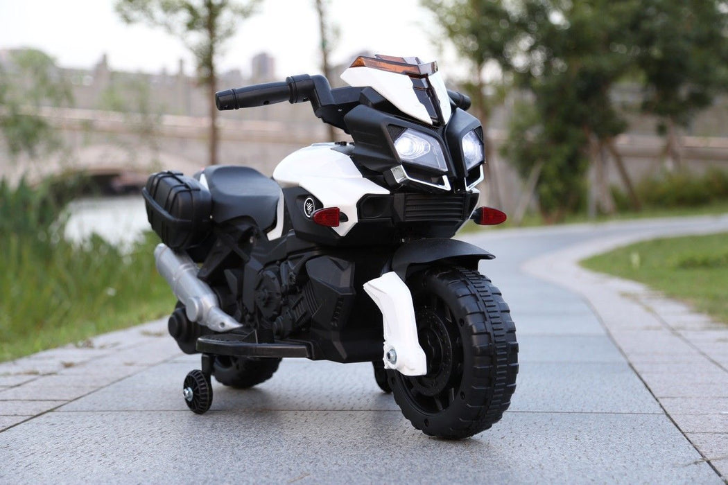 RiiRoo RiiRoo KTM Duke Style Ride On Motorbike/Trike - 6V White