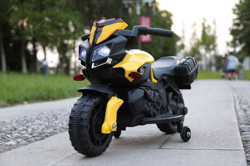 RiiRoo RiiRoo KTM Duke Style Ride On Motorbike/Trike - 6V Yellow