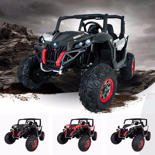 RiiRoo RiiRoo MaxPow™ UTV-MX Ride on Buggy - 24V 4WD Black