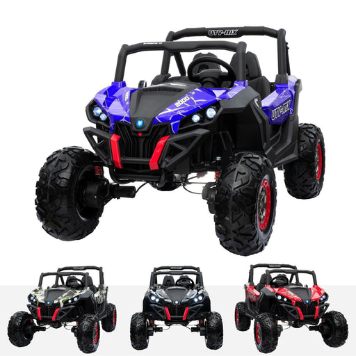 RiiRoo RiiRoo MaxPow™ UTV-MX Ride on Buggy - 24V 4WD Spidr Blue