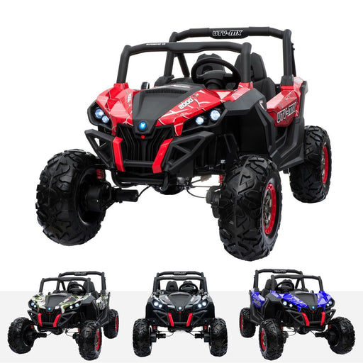 RiiRoo RiiRoo MaxPow™ UTV-MX Ride on Buggy - 24V 4WD Spidr Red