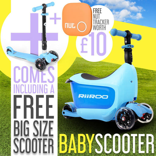 RiiRoo RiiRoo ThreeinOne Maxi Scooter