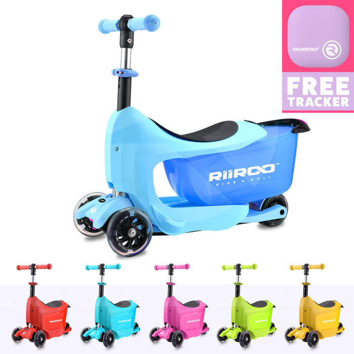 RiiRoo RiiRoo ThreeinOne Maxi Scooter Blue