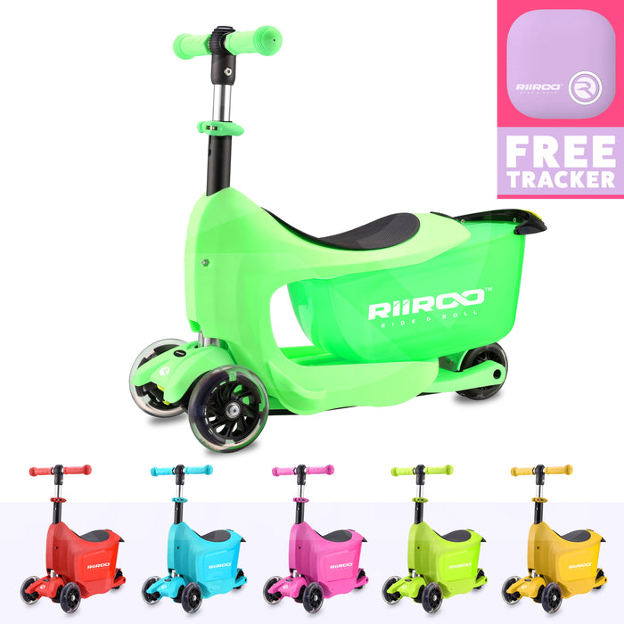 RiiRoo RiiRoo ThreeinOne Maxi Scooter Green