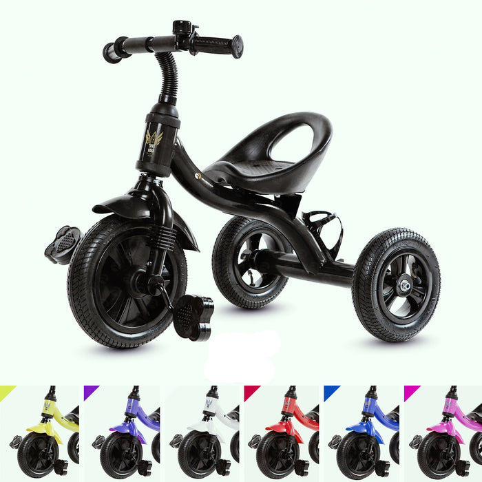 RiiRoo Trike Rider Kids Tricycle Black