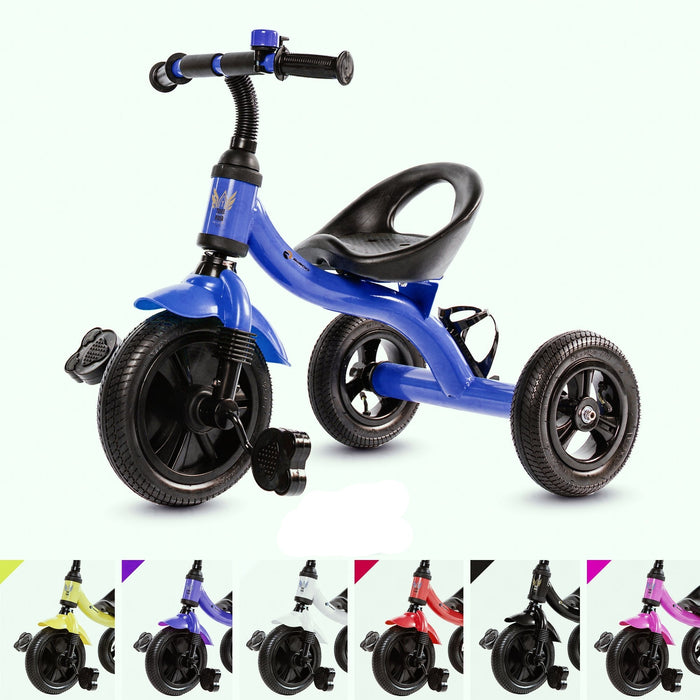 RiiRoo Trike Rider Kids Tricycle Blue