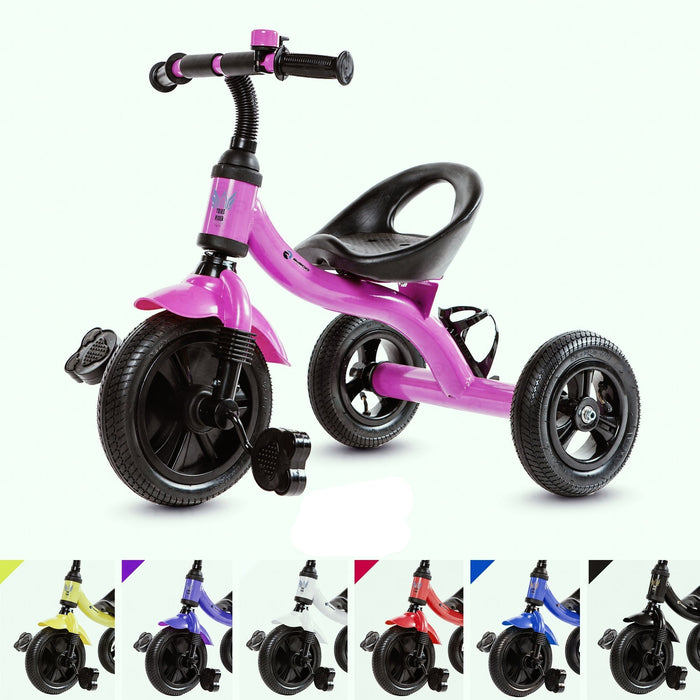 RiiRoo Trike Rider Kids Tricycle Pink