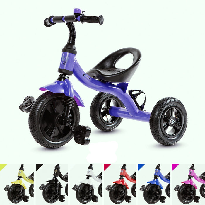RiiRoo Trike Rider Kids Tricycle Purple