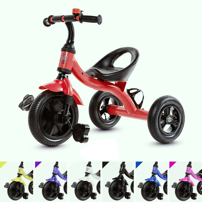 RiiRoo Trike Rider Kids Tricycle Red