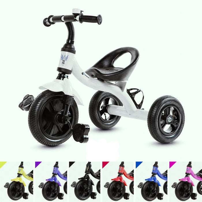RiiRoo Trike Rider Kids Tricycle White