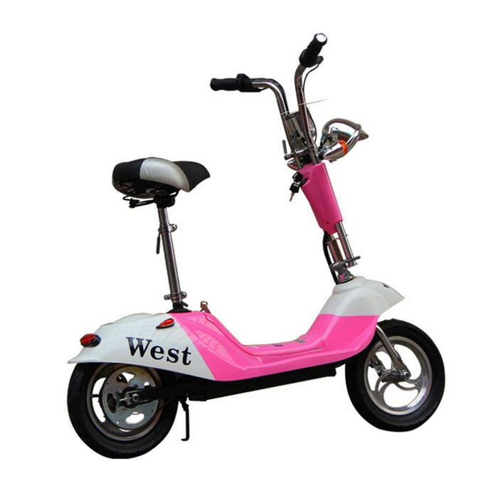RiiRoo Venice - Limited Edition Old School Electric Scooter 350W Pink