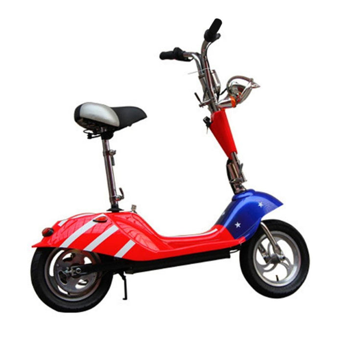 RiiRoo Venice - Limited Edition Old School Electric Scooter 350W Red