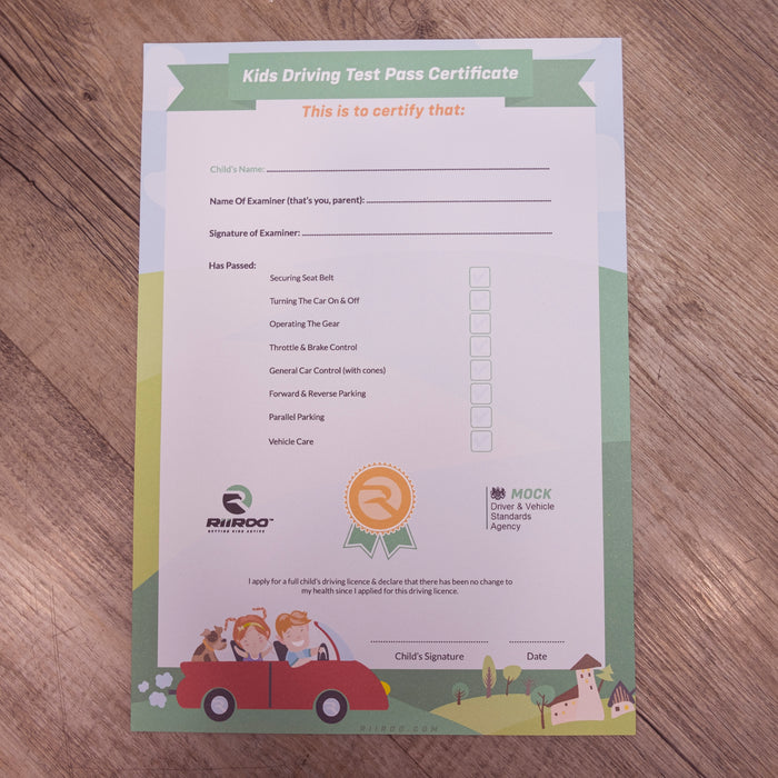 test p4 mercedes driving certificate bundle