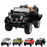 wranggler 2 black1 Black jeep wrangler style ride on suv car electric battery 12v music remote