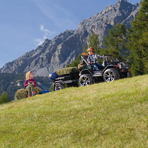 Peg Perego Adventure Trailer  - Black