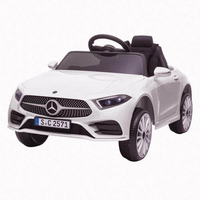 Kids-Electric-Ride-on-Mercedes-CLS-350-AMG-Electric-Ride-On-Car-with-Parental-Remote-Main-Perspective-Front-Left-White.jpg