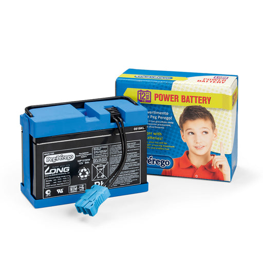 Peg Perego 12V - 8AH Battery  - Blue