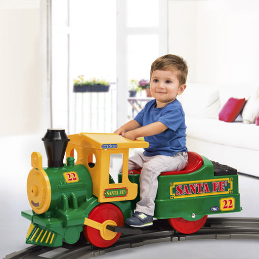 Peg Perego Santa FE Electric Train  - Multi-Colour