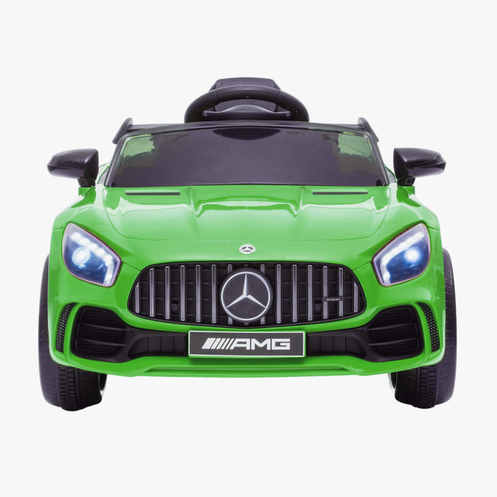 Kids-12-V-Mercedes-AMG-GTR-Electric-Ride-On-Car-with-Parental-Remote-Wheels-Main-Front-Green.jpg