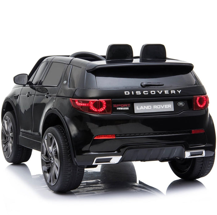 licensed land rover discovery 12v ride on black2 hse sport car