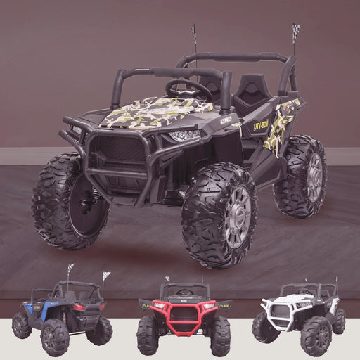 RiiRoo MaxPow 2S UTV-MX Ride on Buggy - Camo